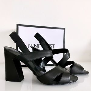 NWT Nine West  heel sandals size 8.5